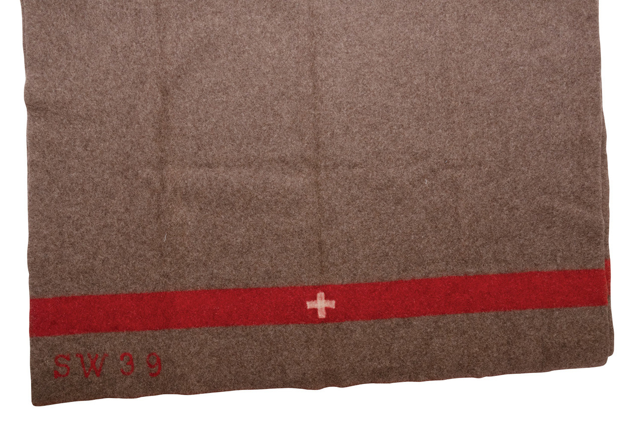 Authentic Swiss Army Wool Blanket - A Grade