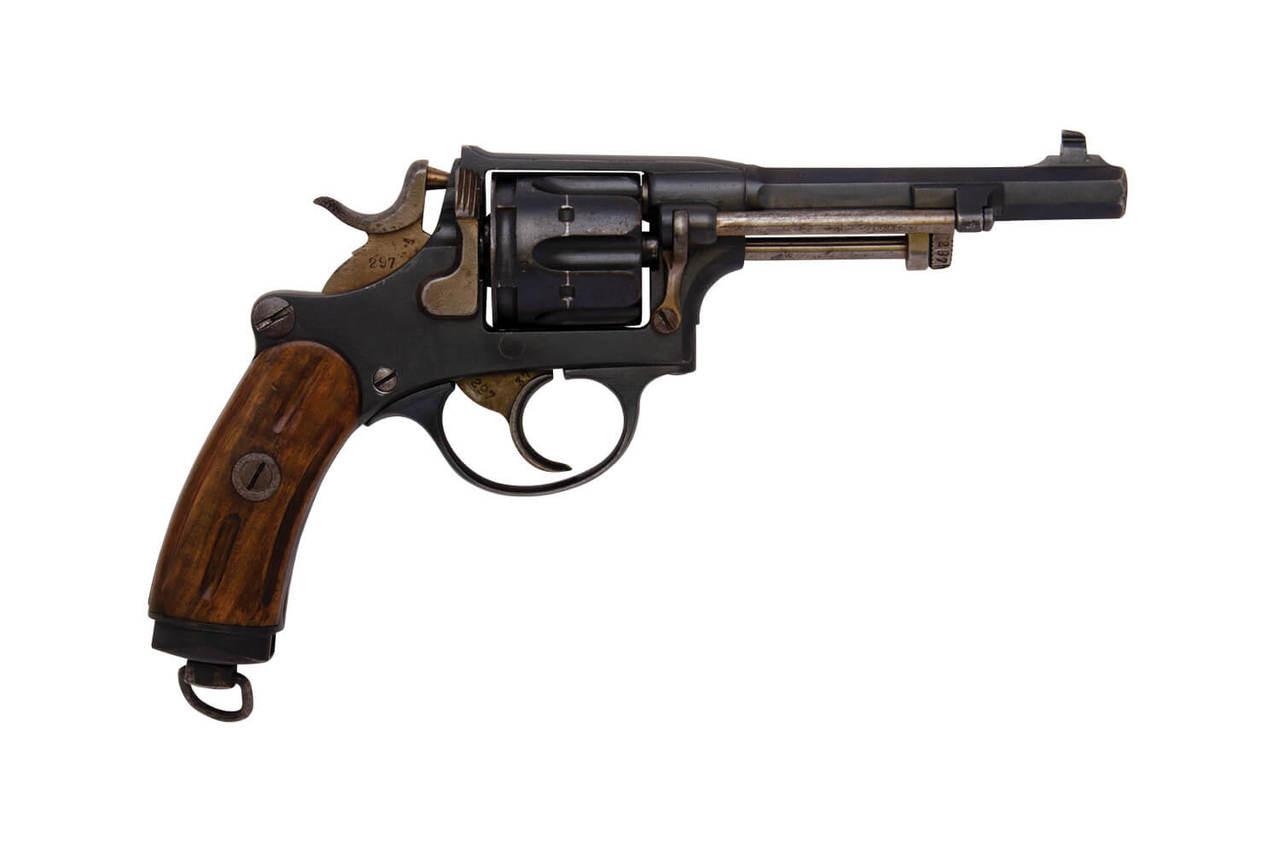W+F Bern Swiss 1882 Revolver w/ Holster - sn 27xxx
