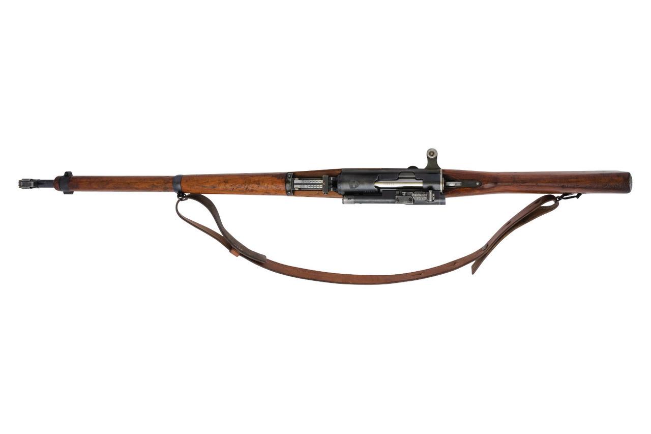 Swiss ZFK 31/42 Sniper Rifle - sn 4502xx