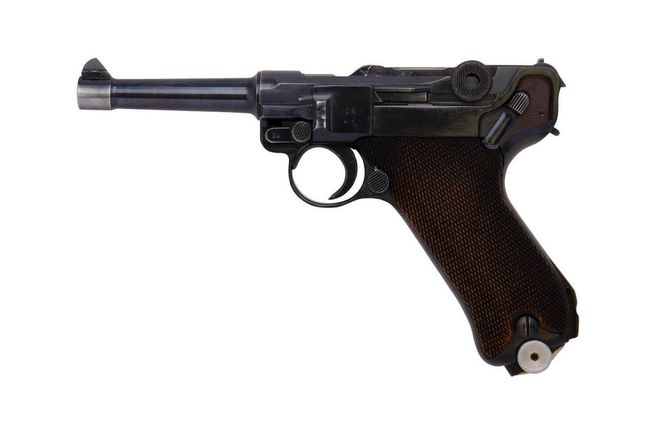 German Luger P08 w/ Spare Mag and Holster - sn 7004