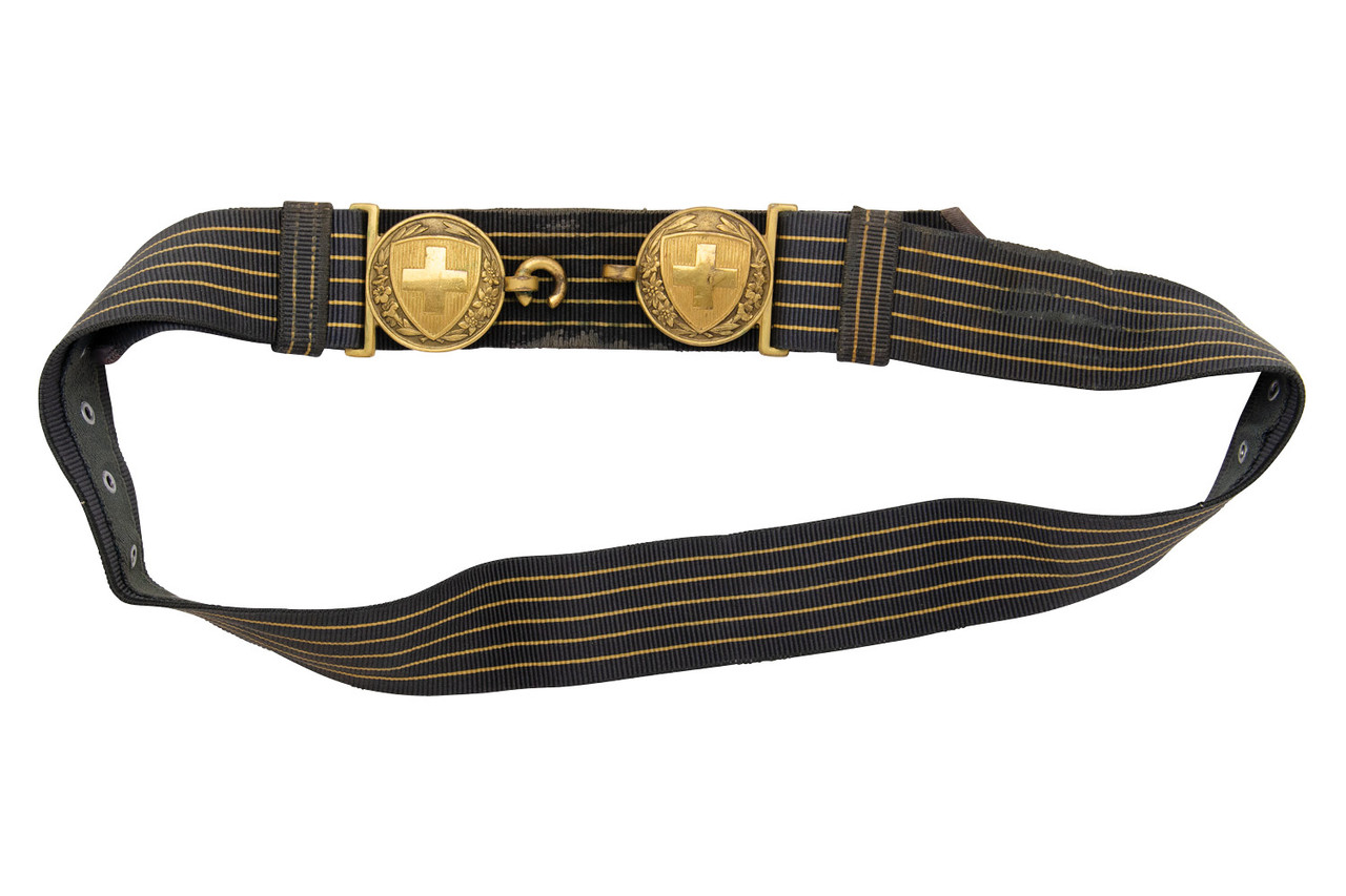 Swiss Officer's WWII Ceremonial Belt