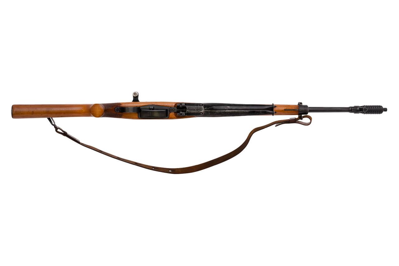 W+F Bern Swiss ZFK 55 Sniper Rifle w/ Bayonet - sn 4xxx