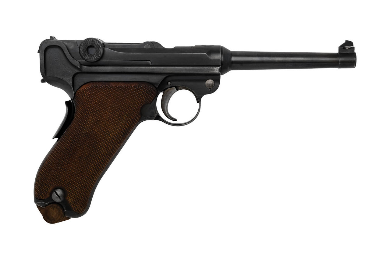 DWM 1906 Swiss Luger w/ Holster - sn 8xxx