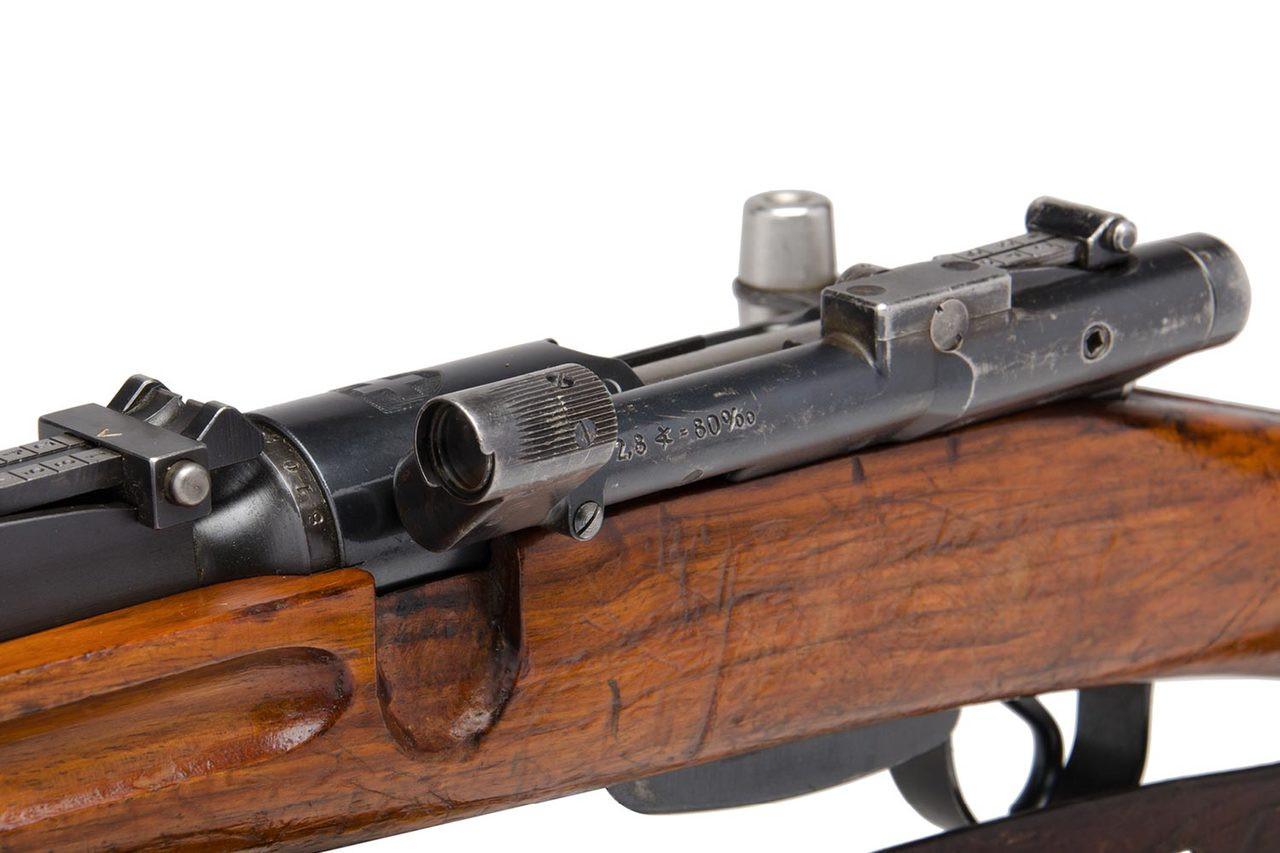 W+F Bern Swiss K31 Sniper rifle (31/43) - sn 451xxx