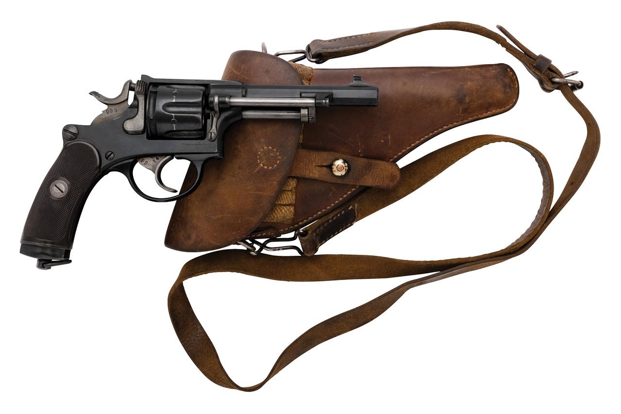 W+F Bern Swiss 1882 Revolver - P Series - sn P21xxx
