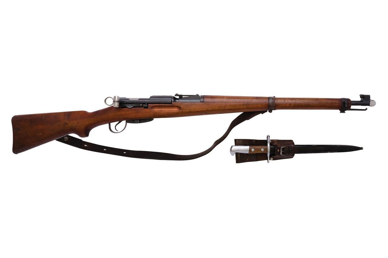 W+F Bern Swiss K31 w/ Matching Bayonet - sn 562xx2