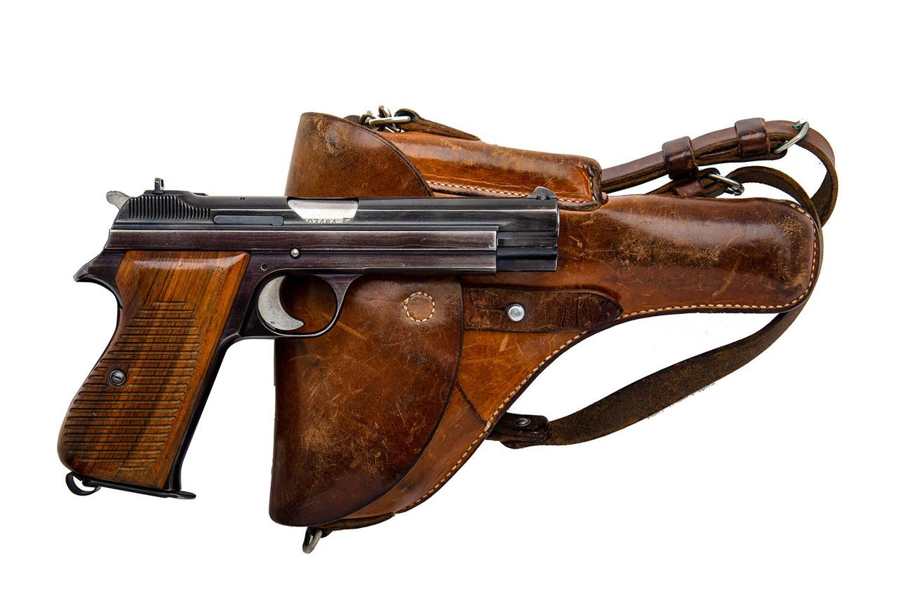 SIG Swiss Army P49 w/ holster - sn A103xxx