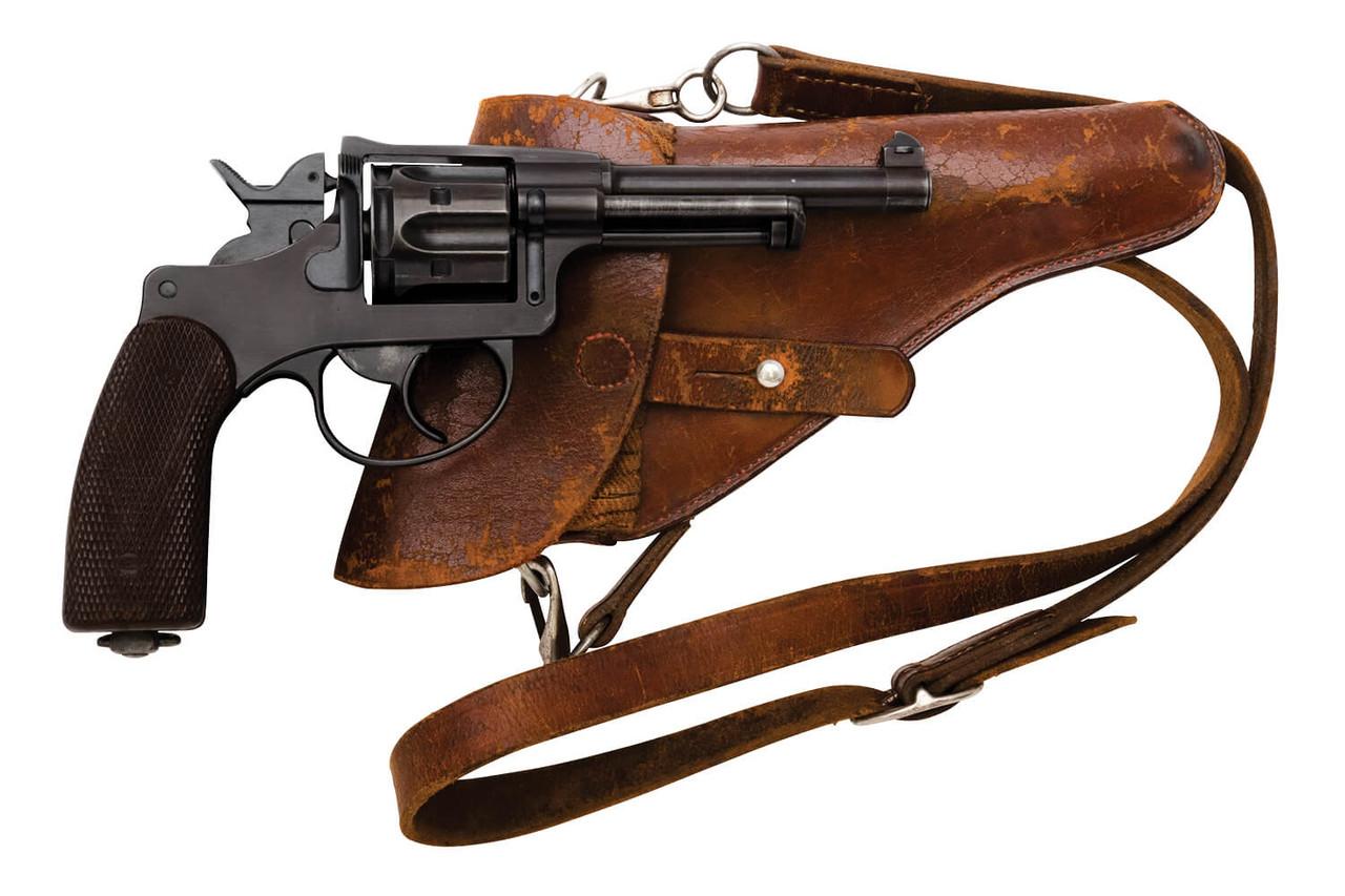 W+F Bern Swiss 1929 Revolver w/ Holster - sn 56xxx
