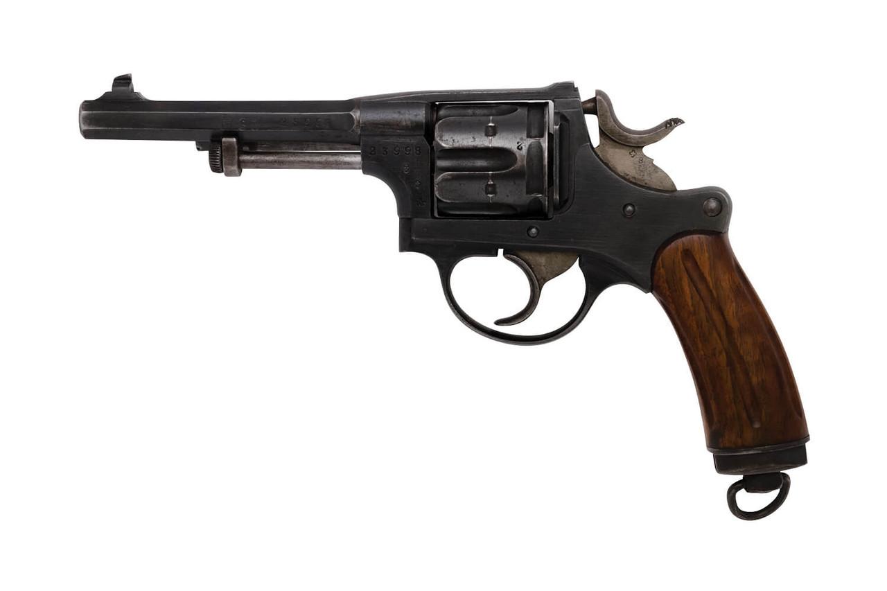 W+F Bern Swiss 1882 Revolver w/ Holster - sn 23xxx