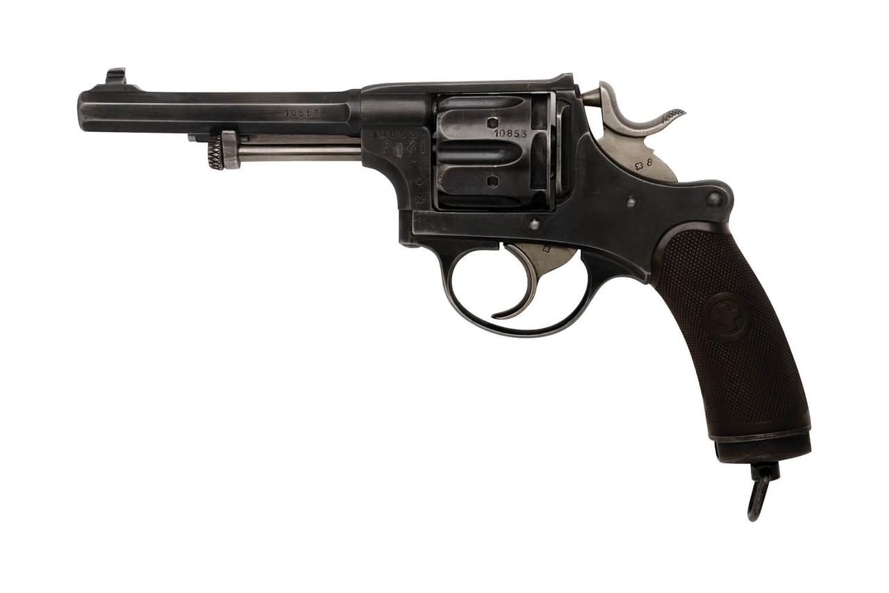 W+F Bern Swiss 1882 Revolver - sn 10xxx