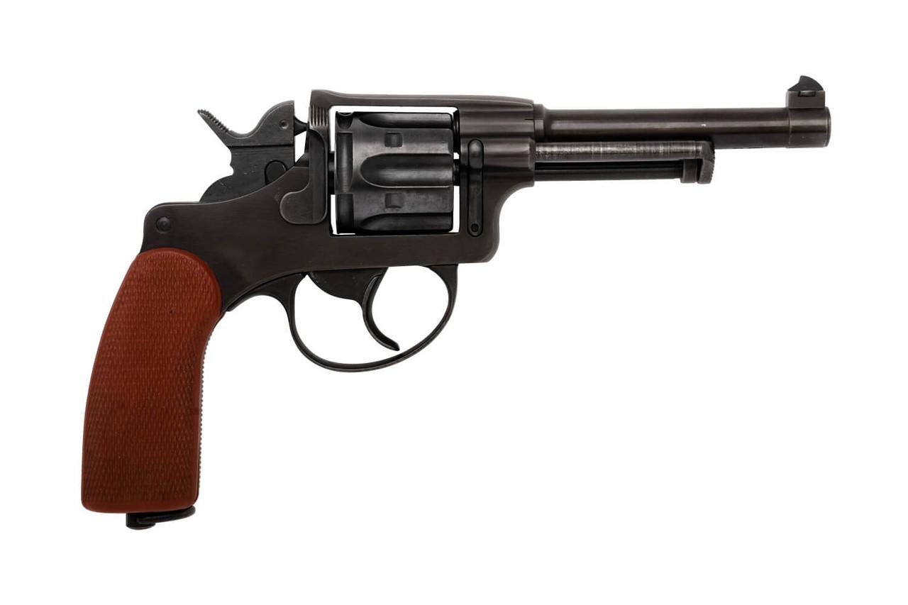 W+F Bern Swiss 1929 Revolver w/ Red Grips - sn 55xxx