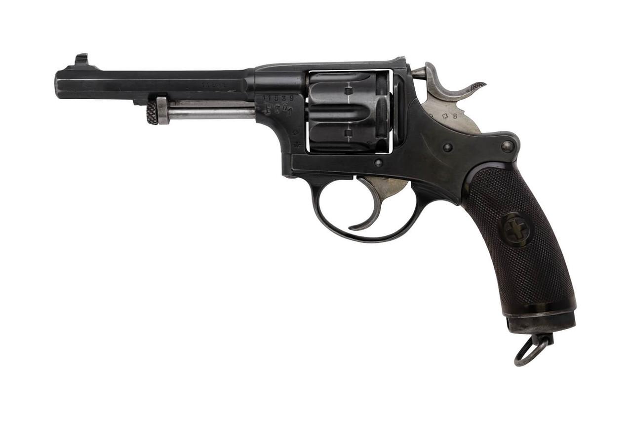 W+F Bern Swiss 1882 Revolver w/ Holster - sn 11xx9