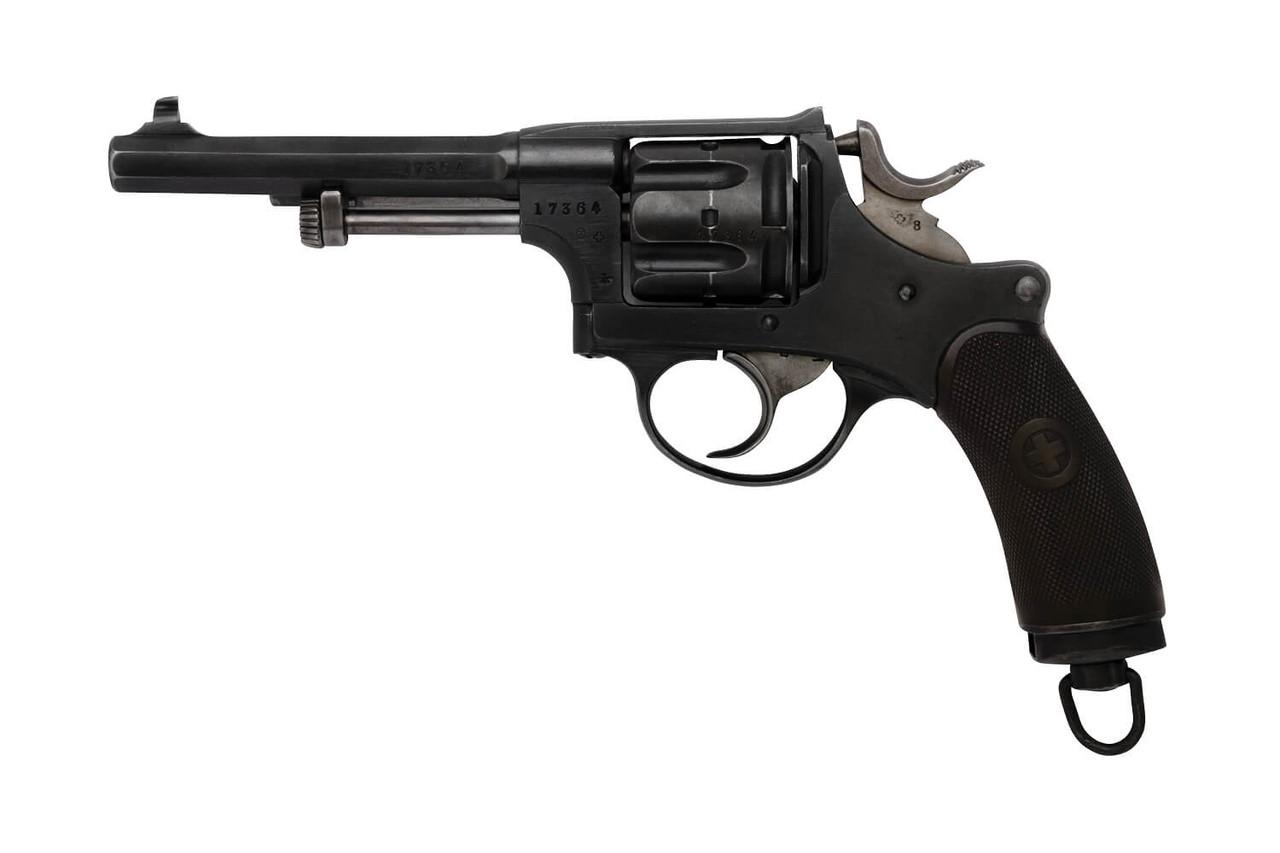 W+F Bern Swiss 1882 Revolver - sn 17xxx