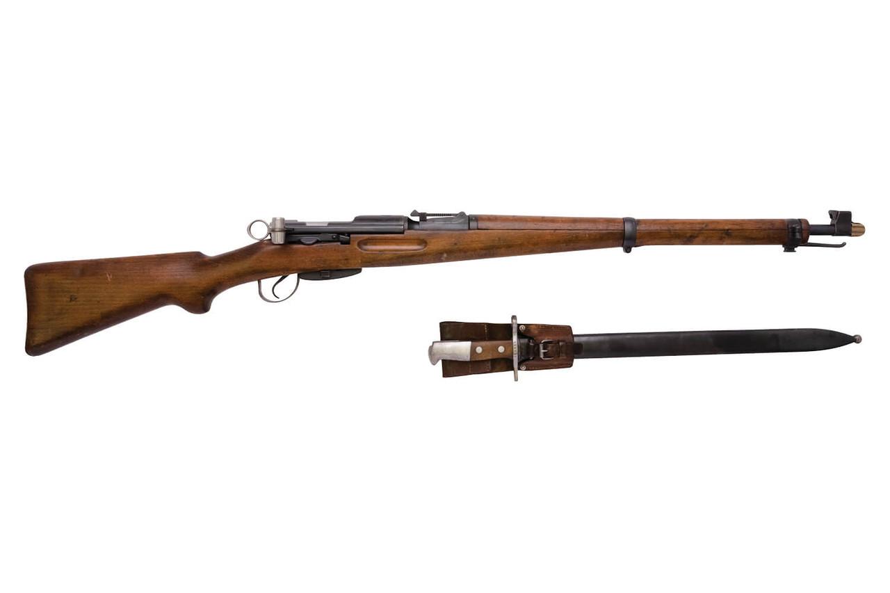 W+F Bern Swiss K31 w/ Matching Bayonet - sn 839xx1