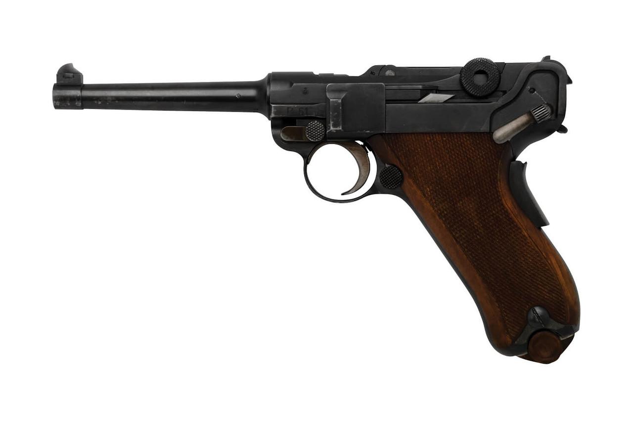 W+F Bern Swiss 06/24 Luger w/ Holster - sn 18xx5