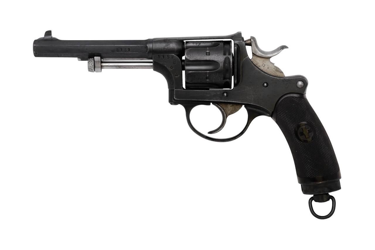 W+F Bern Swiss 1882 Revolver w/ Holster - sn 51xx