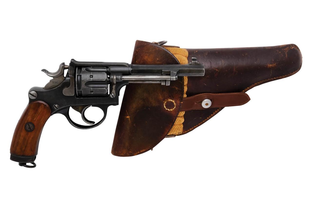 W+F Bern Swiss 1882 Revolver w/ Holster - sn 33xxx