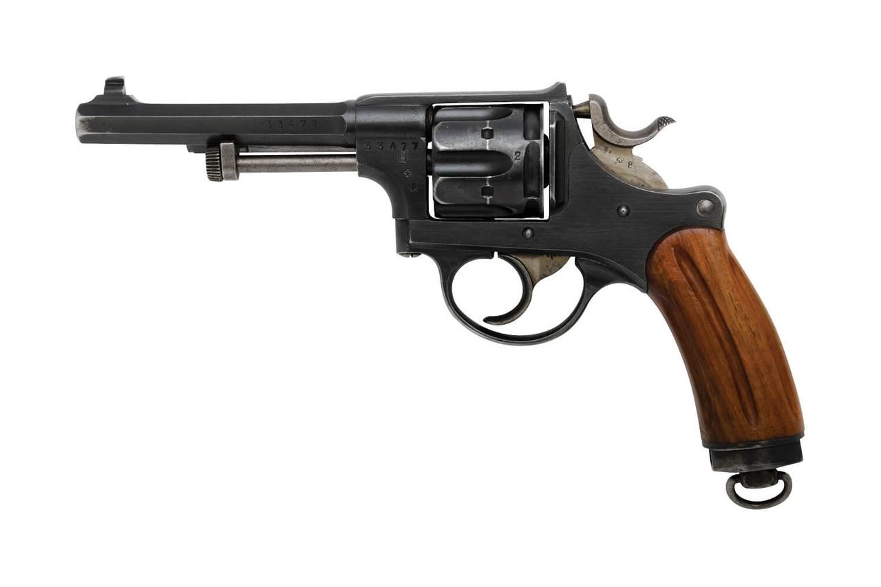 W+F Bern Swiss 1882 Revolver w/ Holster - sn 33xx7