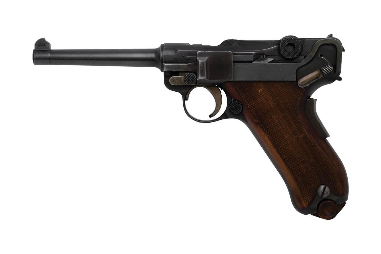 W+F Bern Swiss 06/24 Luger w/ Holster - sn 26xx9