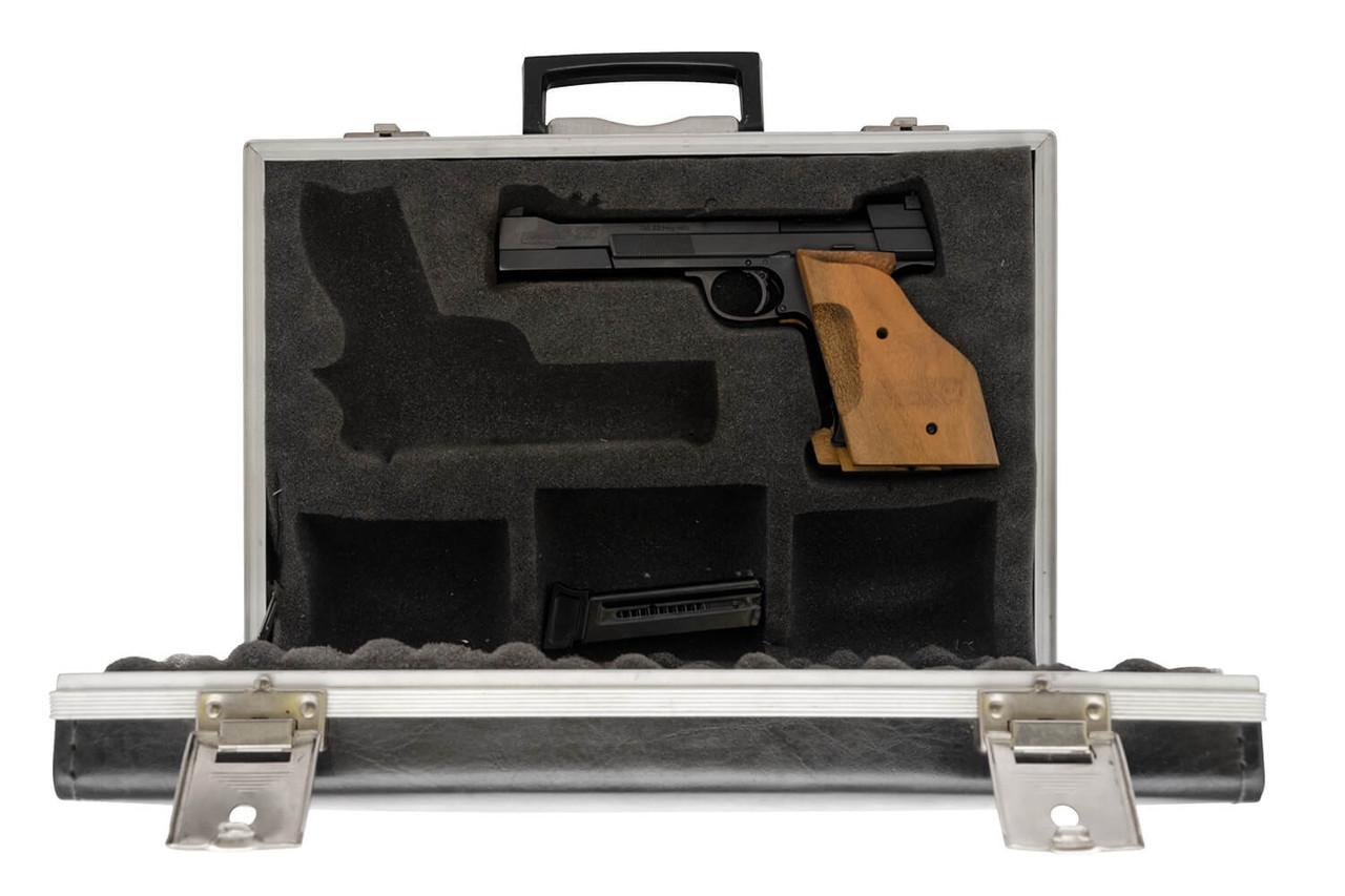 Hammerli 215 Target Pistol w/ Case & Spare Mag - sn G66888