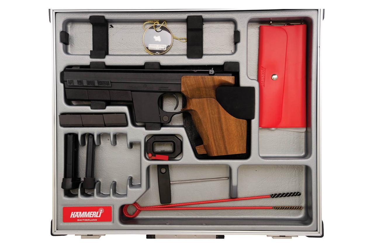 Hammerli 280 Target Pistol - Complete In Box - sn 026xxx