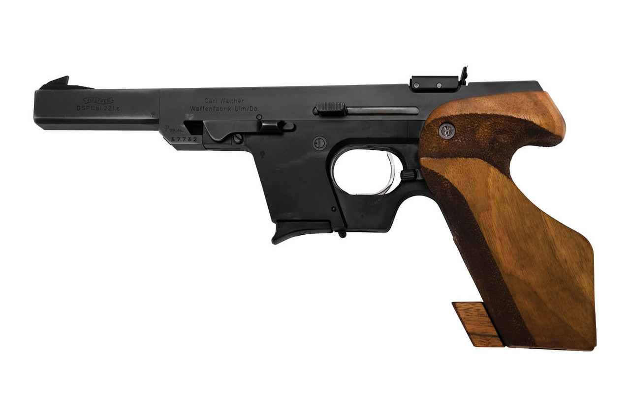 Walther GSP in .22LR configuration.
