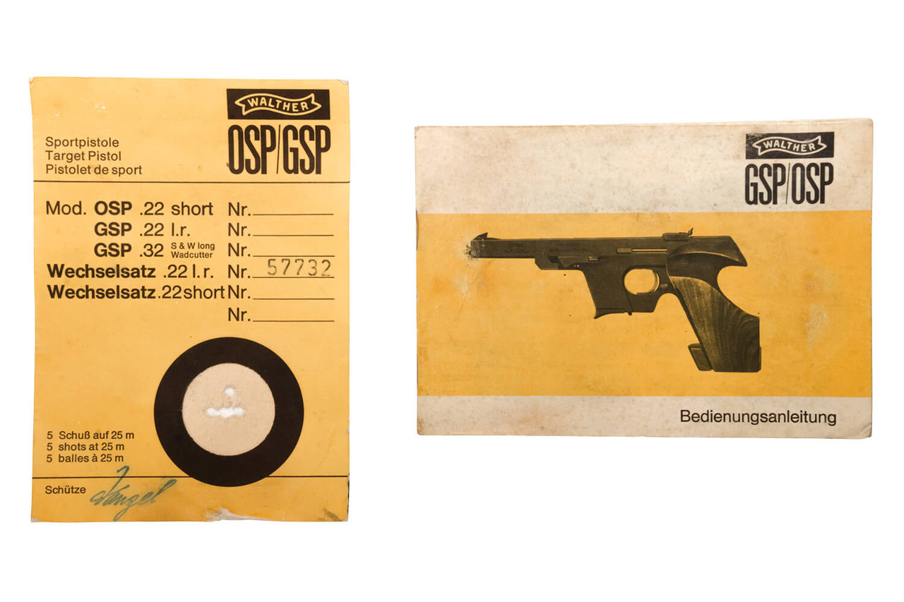 Walther GSP w/ Caliber Conversion Kit - sn 101xxx/57xxx