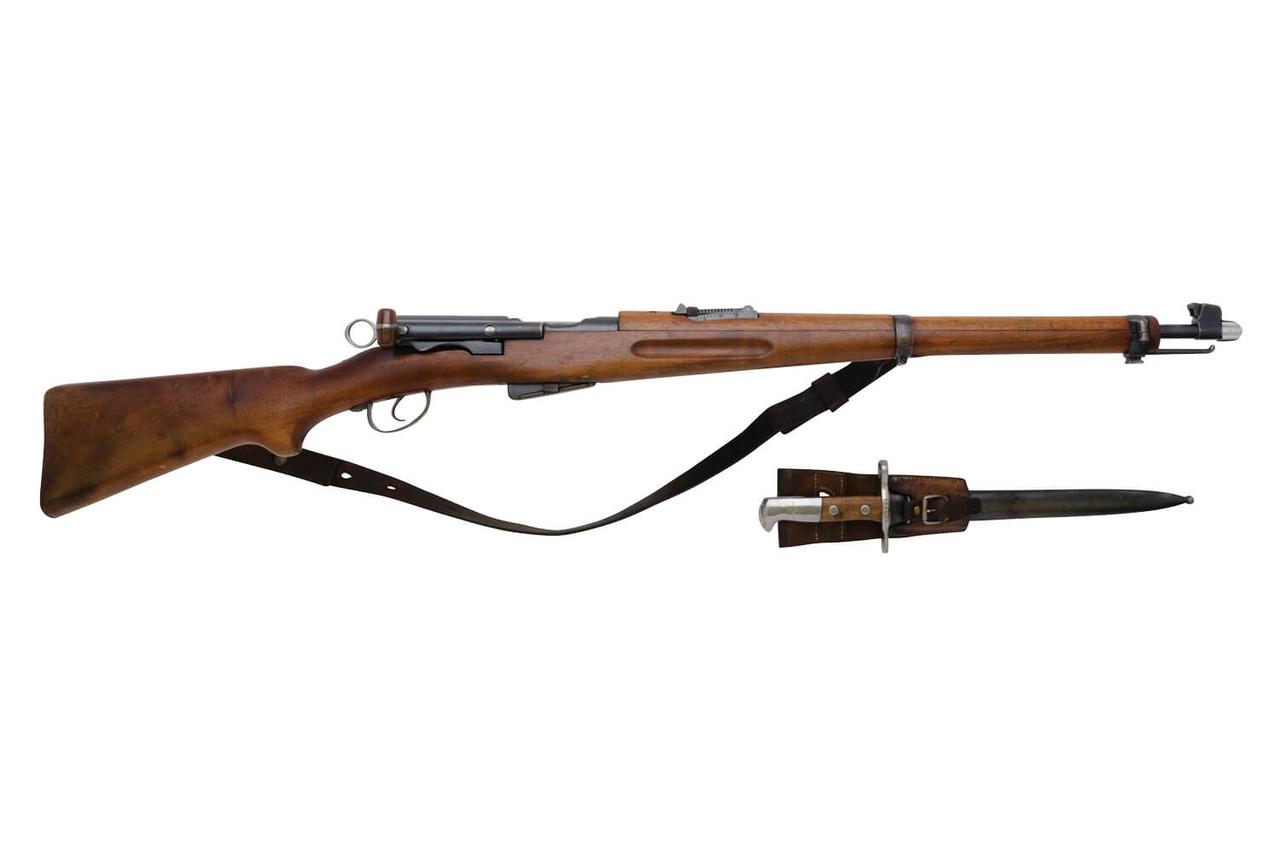 W+F Bern Swiss K11 w/ Matching Bayonet - sn 134xxx