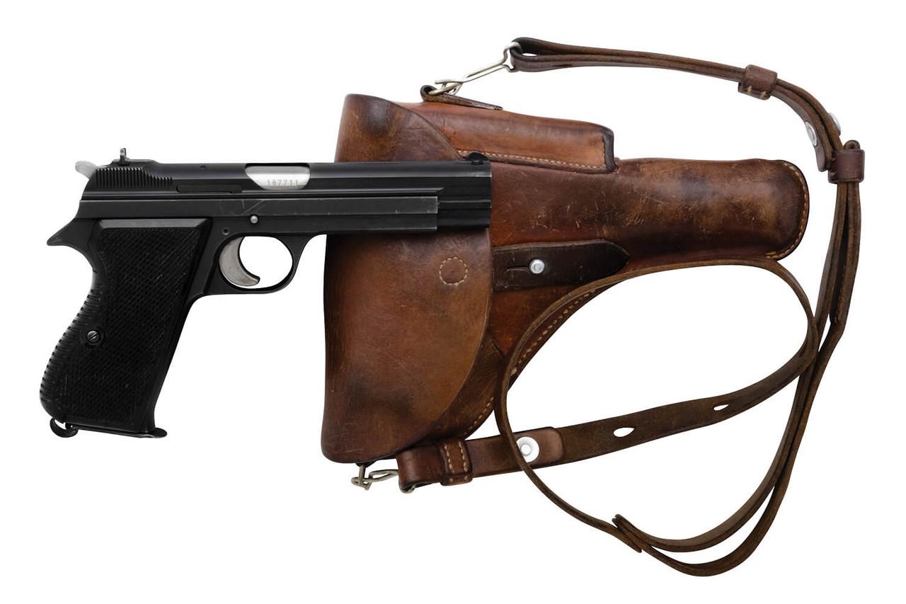 SIG Swiss Army P49 w/ Holster - sn A187xxx