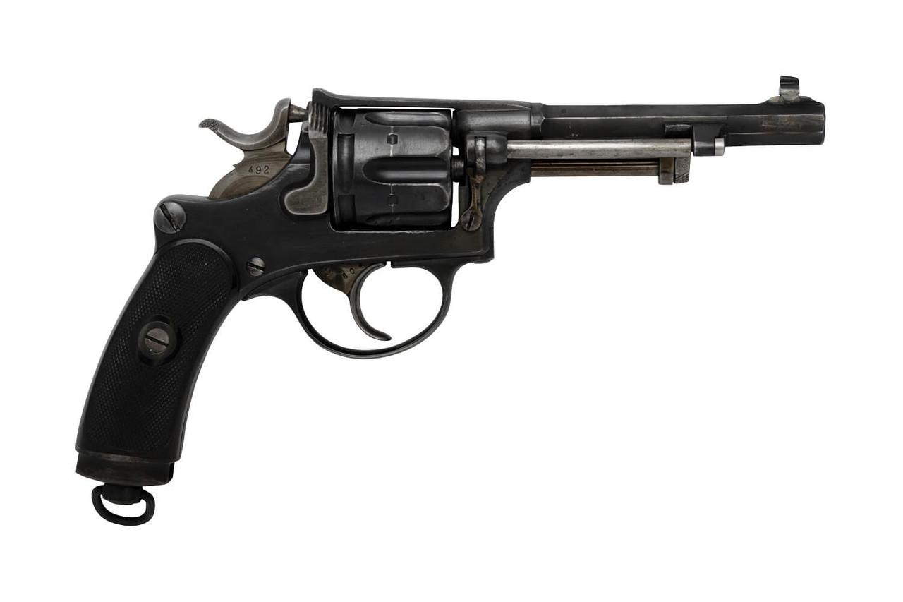 W+F Bern Swiss 1882 Revolver w/ Holster - sn 44xx
