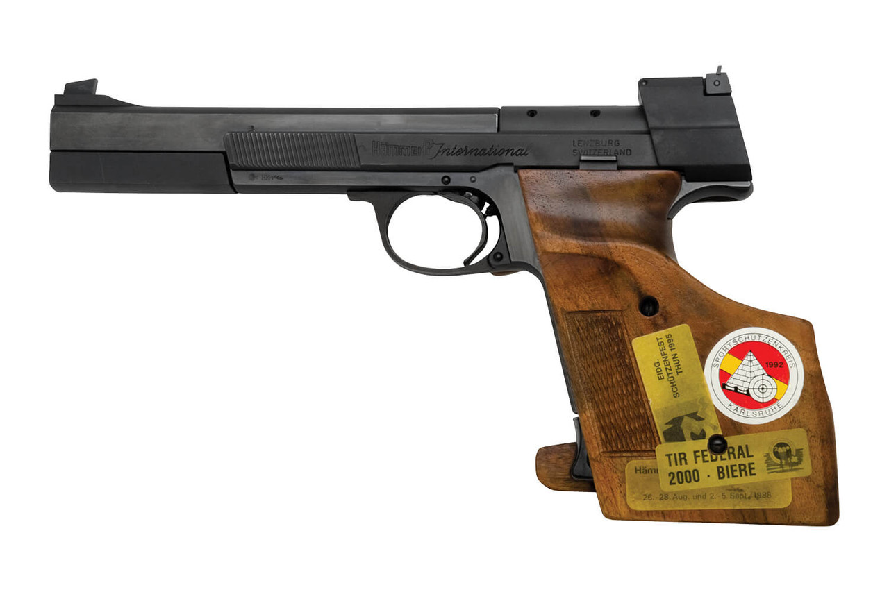 Hammerli International Target Pistol - sn G36xxx
