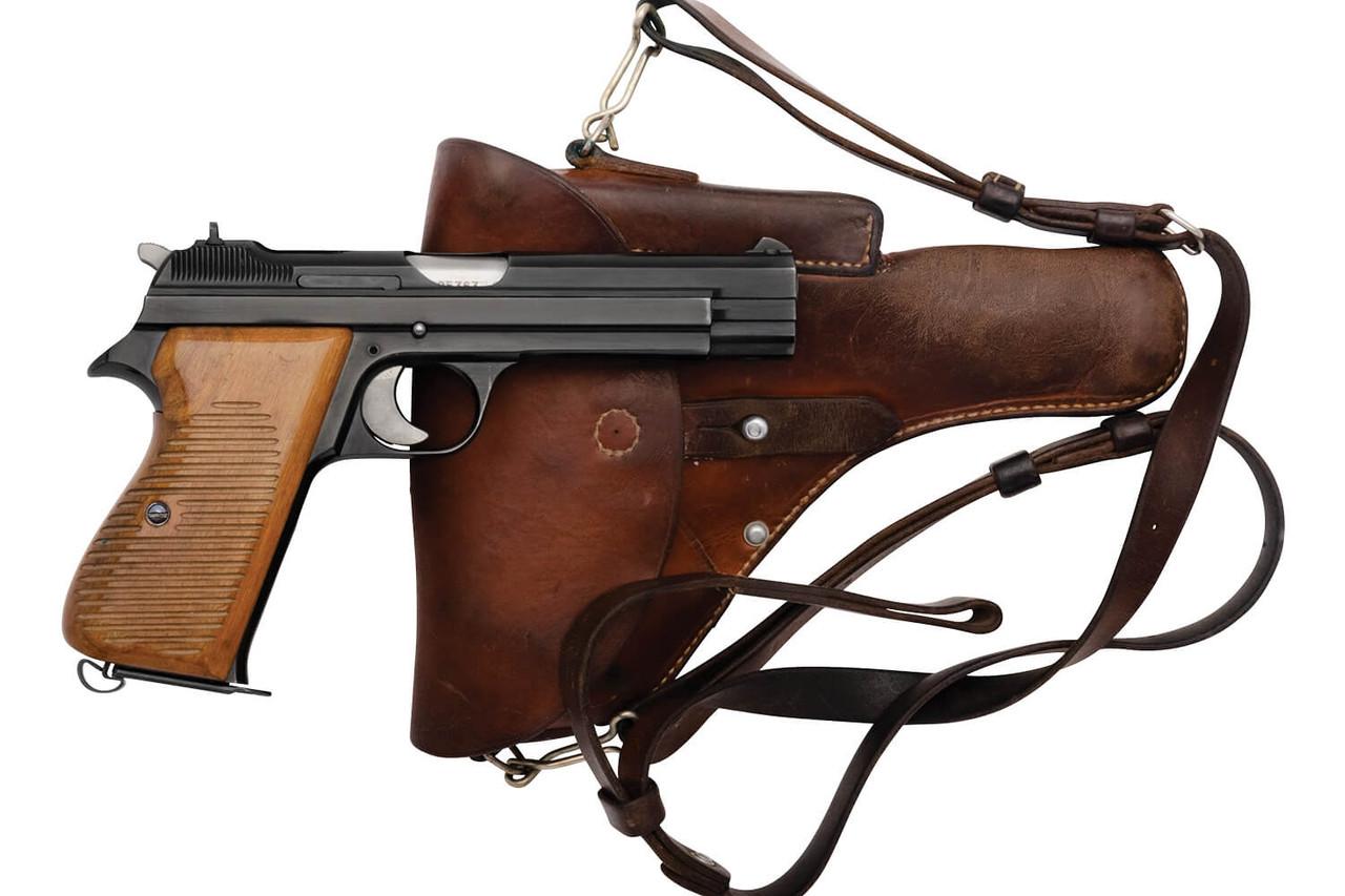 SIG Swiss Army P49 w/ Holster - sn A105xxx