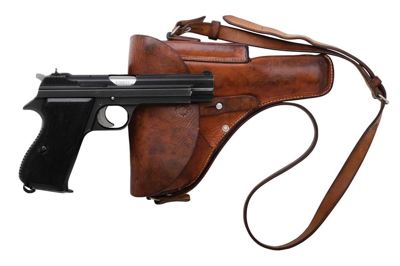 SIG Swiss Army P49 w/ Holster - sn A210xxx