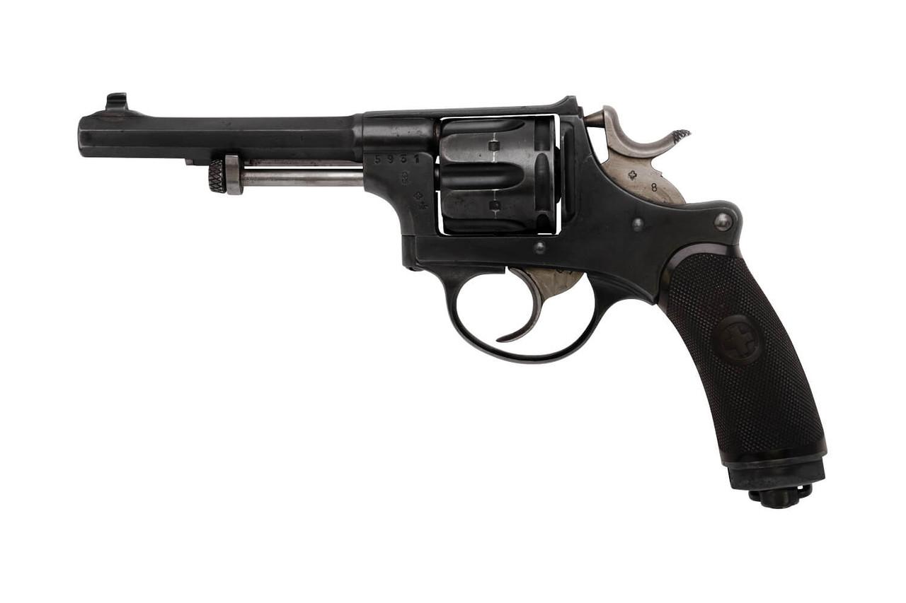 W+F Bern Swiss 1882 Revolver w/ Holster - sn 5xx1