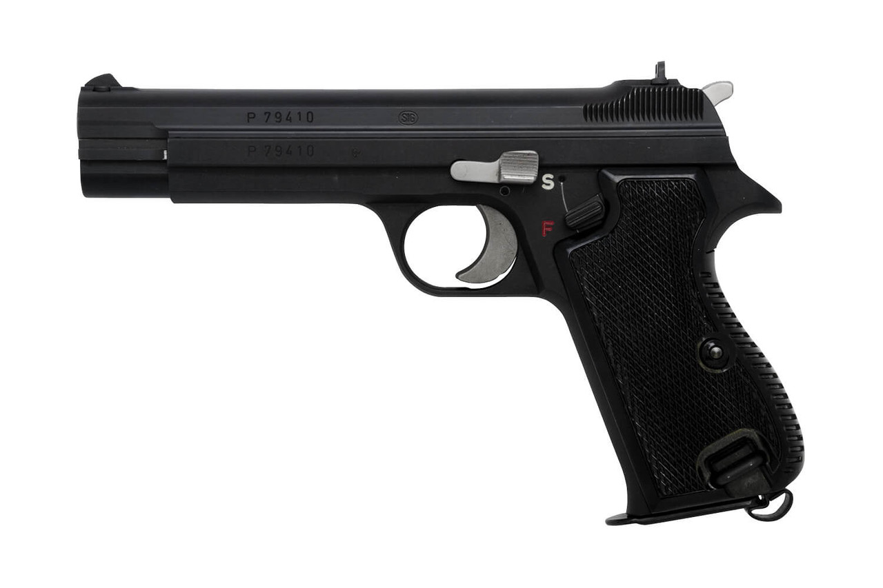 Swiss SIG P210 w/ Case and Cleaning Kit - sn P79xxx
