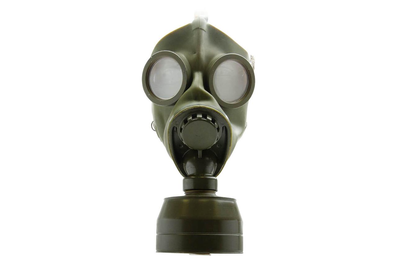 Swiss 1940s FEGA C-Maske Gas Mask w/ Storage Can
