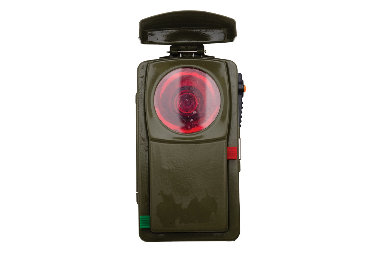 Flashlight with Lens Cover