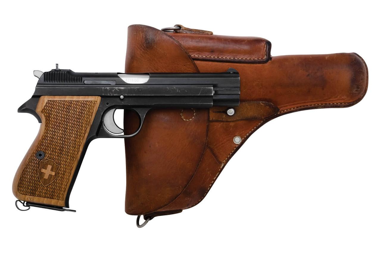 SIG Swiss Army P49 w/ Holster - sn A171xx0
