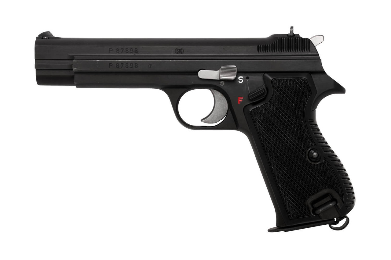 Swiss SIG P210-2 w/ Holster - Private Series - sn P87xxx