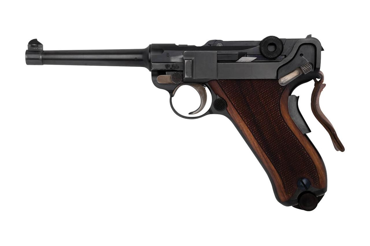 W+F Bern Swiss 06/24 Luger w/ Holster - sn 17xxx