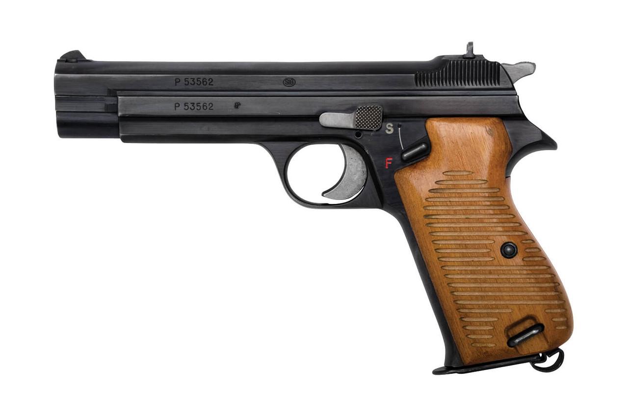 SIG P210-1 Zurich Police w/ Holster - sn P53xxx