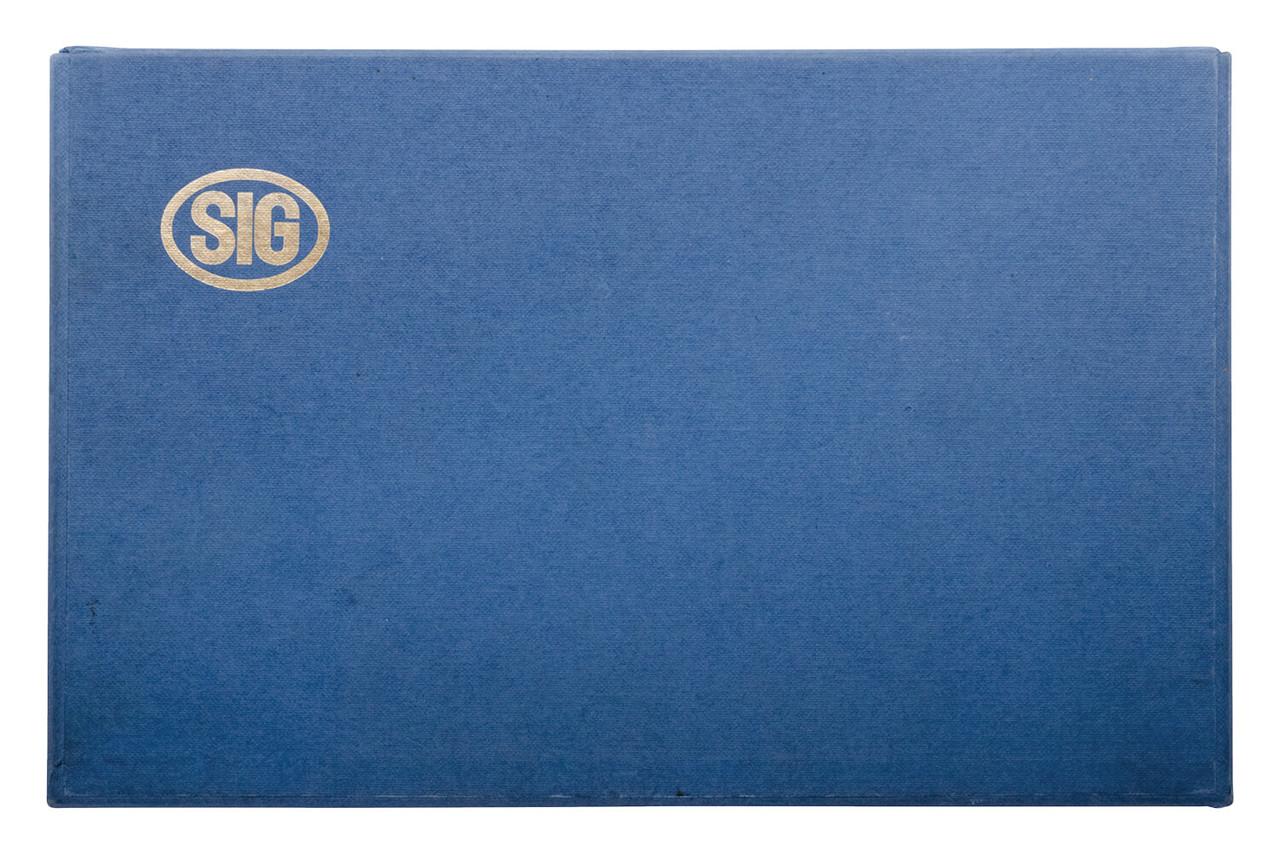 SIG P210-1 Zurich Police w/ Box - sn P54xxx