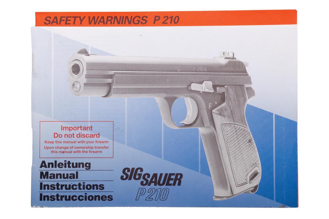 SIG P210 - P49 50 Year Anniversary - sn 138