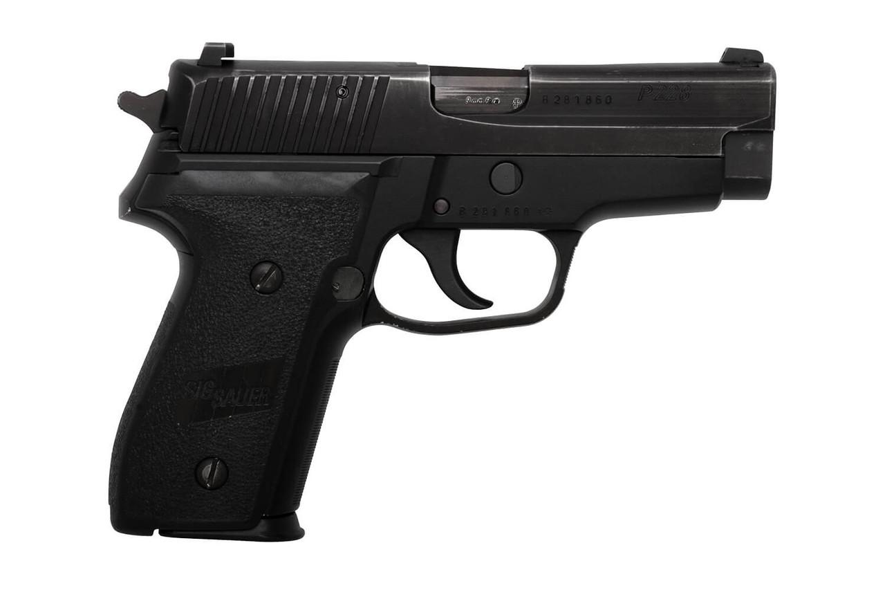 SIG Sauer P228 - Vaud Police - sn B281xxx