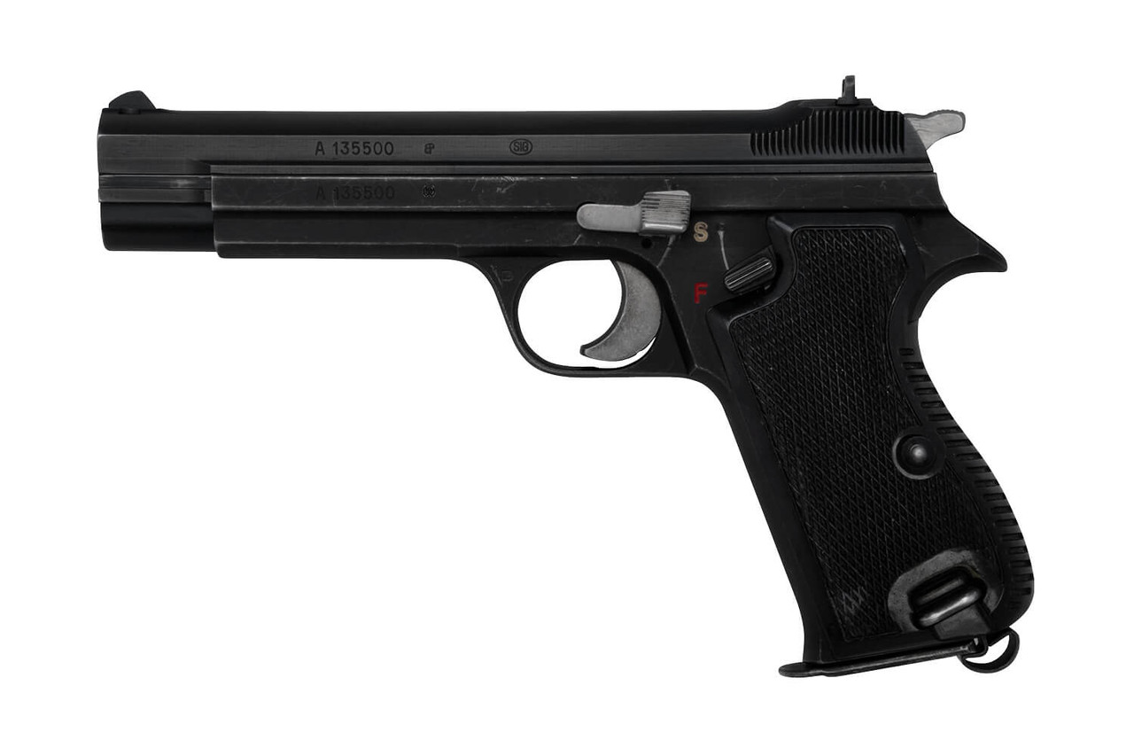 SIG Swiss Army P49 w/ Holster & Cleaning Kit - sn A135xxx