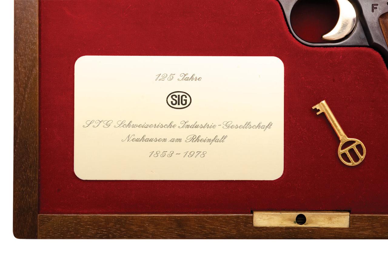 SIG P210 125 Year Commemorative - sn JP2xx