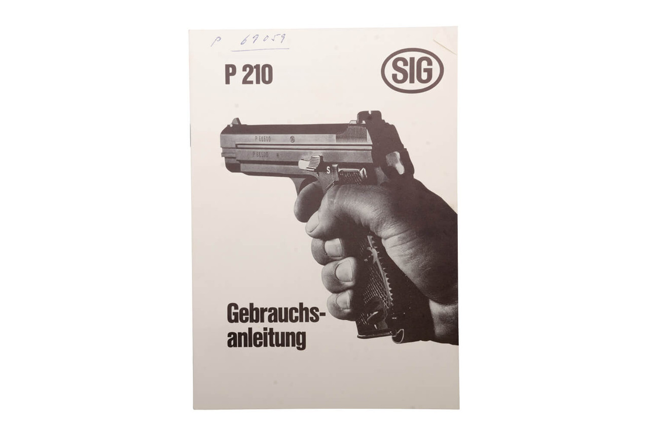 SIG P210-2 w/ Case - Private Series - sn P69xxx