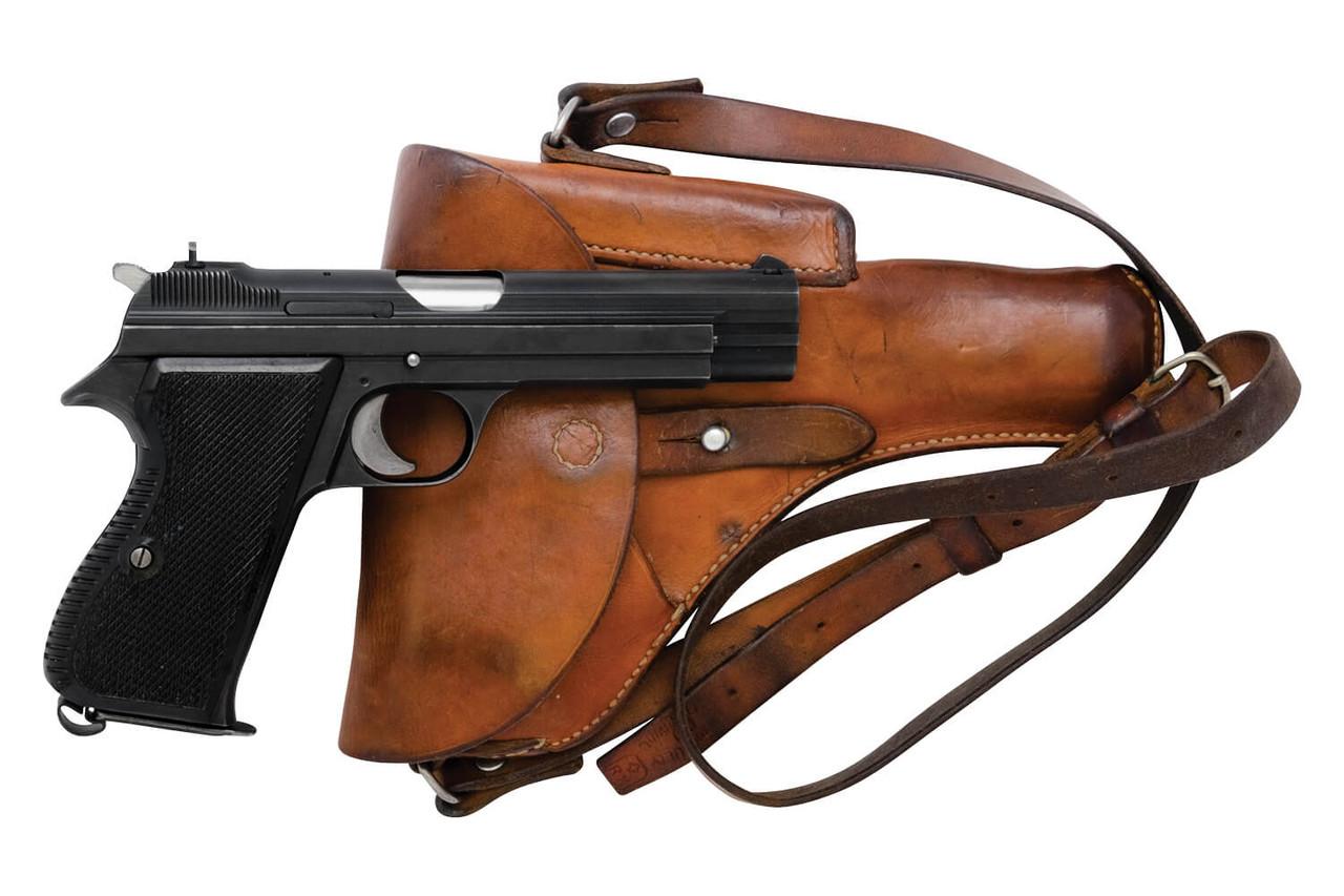 SIG Swiss Army P49 w/ Holster - sn A132xxx