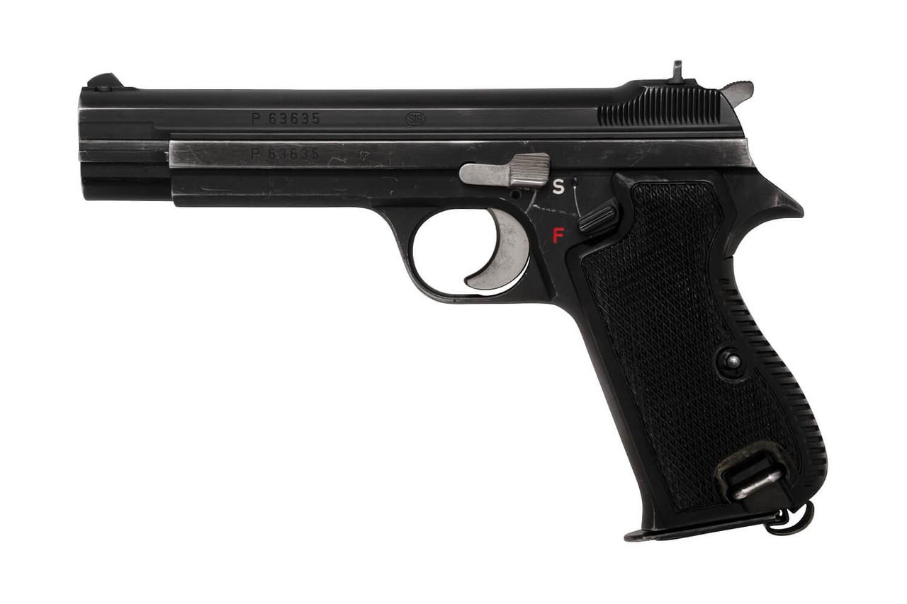 SIG P210-2 w/ Holster & Manual - Zurich Police - sn P63xxx