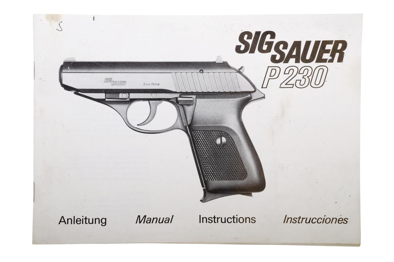 SIG Sauer P230 - Zürich City Police - sn S108xxx